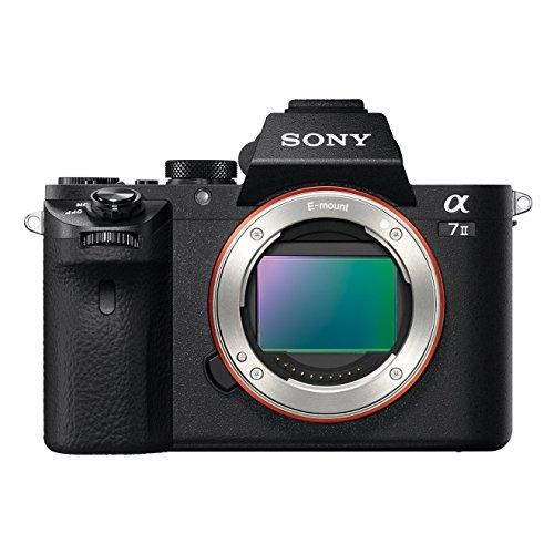 Sony Alpha 7 II Appareil Photo Numérique Hybride Boitier Nu, Capteur Plein Format 35 mm, 24,3 Mpix, Stabilisation...