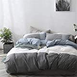 VClife Geometric Patchwork Bedding Comforter Cover...
