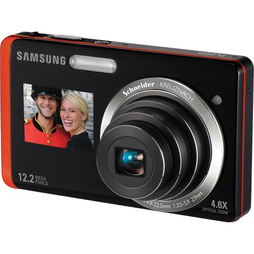 Review Samsung TL225 DualView 12.2MP Digital Camera with 4.6X Optical Zoom and 3.5-Inch LCD Screen a...