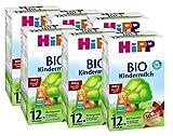 Hipp Bio Kindermilch - ab dem 12. Monat, 6er Pack (6 x 800g) -