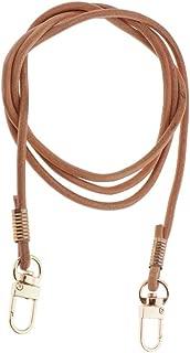 Baoblaze Premium Leather Purse Strap Handbag Strong Belt Adjustable Length Two Metal Buckles Length 121cm