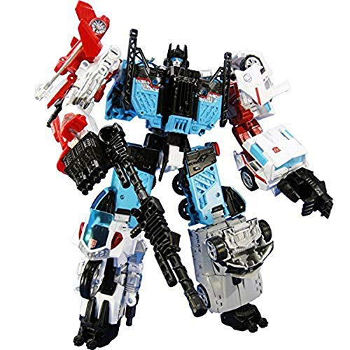TRANSFORMERS UW03 Defensor (guardian) Japan edition color specification|Unite Warriors/TAKARATOMY mall original figure
