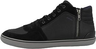 Geox Mens Adult Elver 1 Black Sneakers