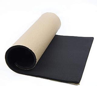HEHUANG 1 rouleau 3mm 5mm 8mm voiture mousse acoustique caoutchouc tapis disolation phonique haut-parleurs de voiture isolation phonique des vibrations 3mm