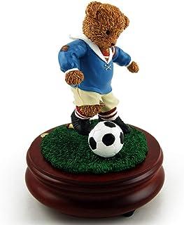 Thread Bears - World Cup Soccer Threadbear Musical Figurine - Over 400 Song Choices - Eine Klien Nachtmusik, Allegro - SWISS (+$45)