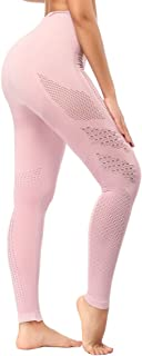 Yoga Leggings High Waist, Gym Workout Tights Athletic Pants Running for Women Compression