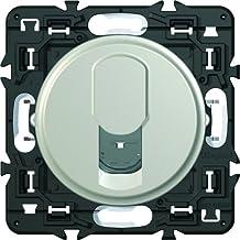 Legrand LEG86038 Prise t/él/éphone 8 contacts appareillage saillie complet Blanc