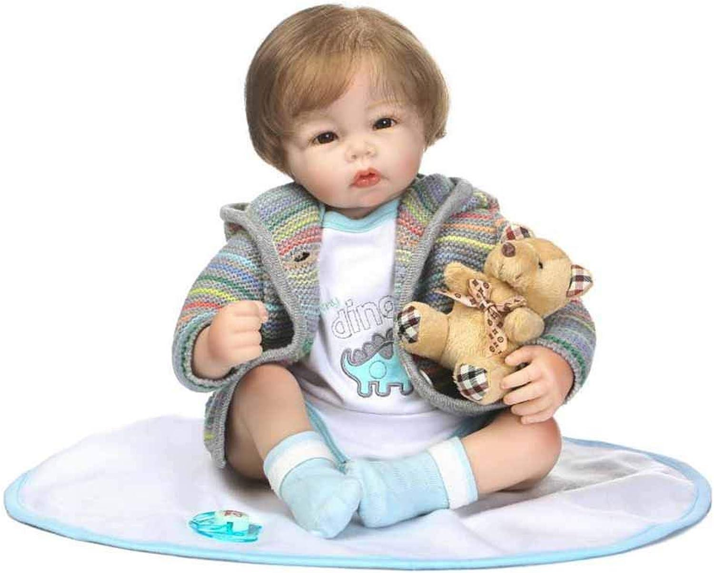 a la venta CHENG Newborn Baby Dolls 19 19 19 Pulgadas Vinilo Suave Silicona Reborn Toddler Baby Reborn Dolls Mejor Regalo  compra limitada