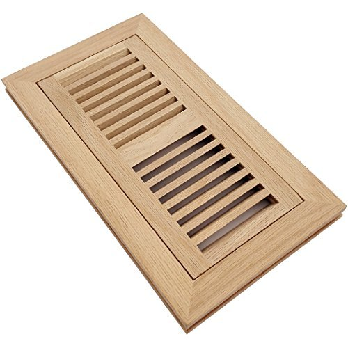 oak flush mount floor register - 4
