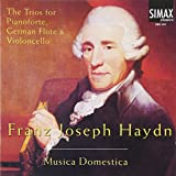 Haydn : Trios for pianoforte,flu