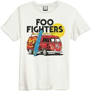 Amplified Clothing Foo Fighters 'Camper Van' (Natural) T-Shirt
