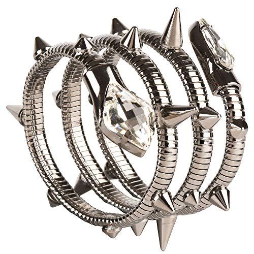Giuseppe Zanotti Bracciale Aleesha Snake Cuff Bracelet