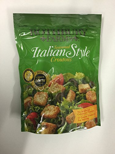 Rothbury Farms Croutons Seasoned Italian Style 142 Grams