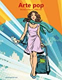 Arte pop libro para colorear para adultos 1 & 2