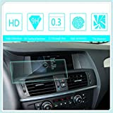 Maiqiken for BMW X3 2011 2012 2013 2014 2015 2016 8.8 Inch 209×79mm Navigation Screen Protector Touch Screen Display Film 9H Hardness Anti Glare Anti Scratch GPS Screen Protector Foils