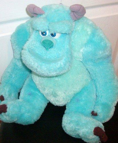 Disney Store Sully Monsters Inc Stuffed Plush 11' Sitting Figure