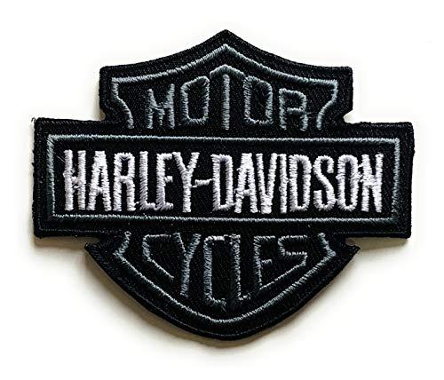 Harley Davidson bestickte Motorrad-Biker-Aufnäher zum Aufnähen oder Aufbügeln.