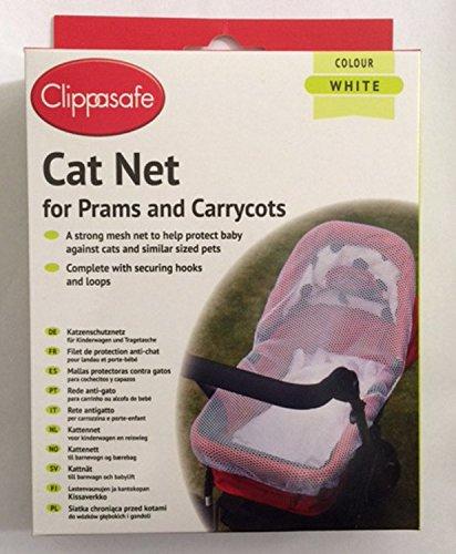 Clippasafe - Mallas protectoras contra gatos, para cochecito