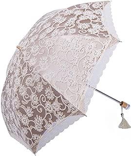 Nicecho UPF 50+ Fashion Lace Umbrella - Sun Protection