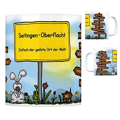 trendaffe - Seitingen-Oberflacht - Einfach die geilste Stadt der Welt Kaffeebecher