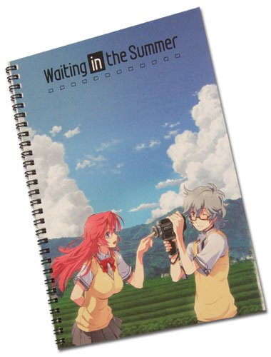 Waiting In The Summer Ichika & Kaito Spiral Notebook