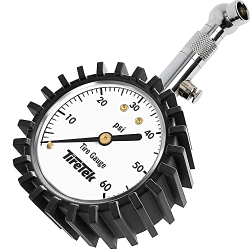 TireTek Tire Pressure Gauge 0-60 PSI