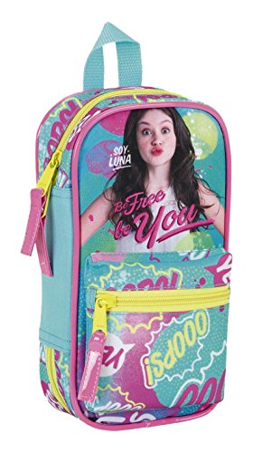 Soy Luna 'Be Free' Official 4 Cases Bag and Utensils