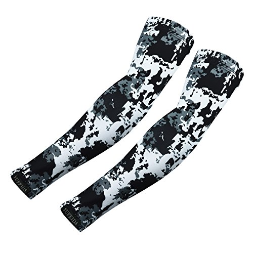 Fashion Cooling Arm Sleeve Cover UV Sun Protection Basketball Sport Outdoor K760