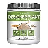 Designer Protein Designer Plant Vegan Meal Replacement Protein Powder, Essential 10, Belgian...