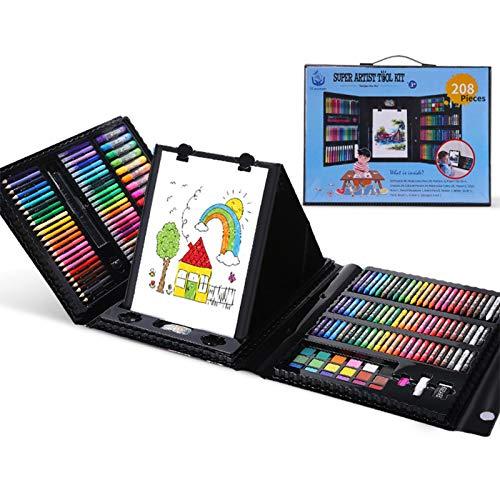 Art Creativity, Juego De Arte Para Niños, Ideal Para Principiantes, Incluye 208...
