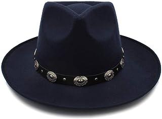ec0518513c3 SXQ Wide Brim Winter Fedora Hat for Women Wool Hat Fashion Chapeau Femme  Autumn Female Fashion