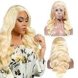 Kreesi hair 613 Blonde Body Wave lace Front Human Hair Wigs 12 inch 100% Brazilian Unprocessed Virgin Human Hair 13X4 Lace front wigs Blonde Human Hair Wigs 150% Density
