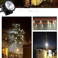 JJSFJH セキュリティライト投光器屋外照明付きセンサーライト屋外ライトPIR付きLEDセキュリティライト防水屋外タワークレーンスーパーブライトプロジェクションライトトンネル防水セーフティランプ (Wattage : 800W)