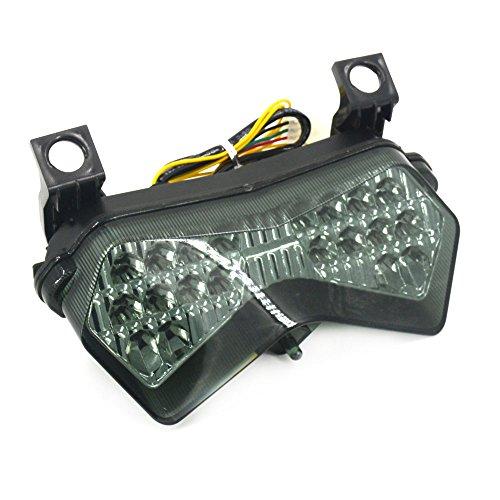 Un Xin LED Posteriore Freno Direzione Fanale Posteriore Fanale Posteriore Per Kawasaki ZX6R 636 2003 2004 ZX6RR 2003 2004 Z750S 2003 2004 Z1000 2003-2006