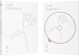 Bangtan Boys BTS 5th Mini Album Love Yourself 承 'HER' (Incl. One Random Acrylic Photocard) (Ver L)