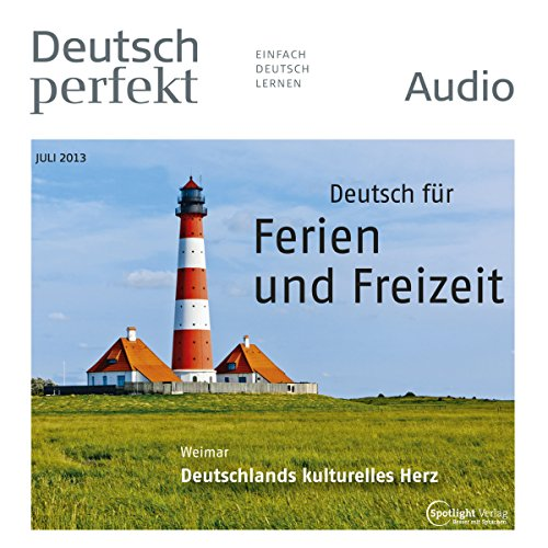 Deutsch perfekt Audio. 7/2013 audiobook cover art