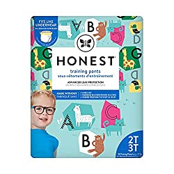 Best Pull Up Diapers - Honest Training Pants, Animal ABCs