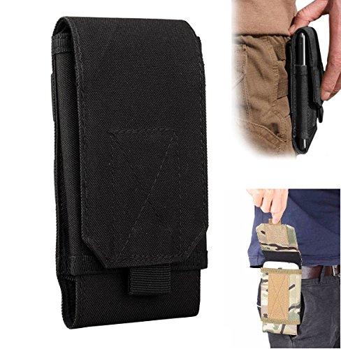efanr Universal Outdoor Tactical MILITÄR MOLLE Taille Gürteltasche Geldbörse Tasche Schutzhülle für iPhone 766S Plus Samsung Galaxy S7S6LG HTC und mehr Mobile Handys bis 15,2cm