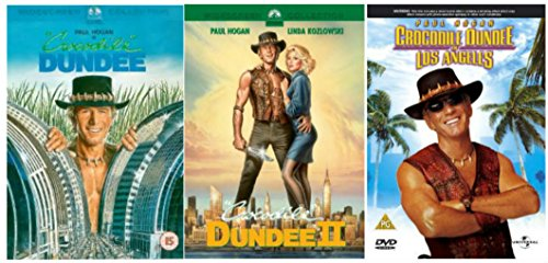 Crocodile Dundee Trilogy 1-3 Complete DVD Movie Collection: Crocodile Dundee / Crocodile Dundee 2 / Crocodile Dundee In Los Angeles Extras by Paul Hogan