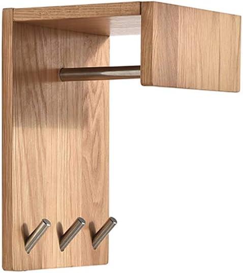 ENYI Wall-Mounted Hangers Solid Wood Han Wall Coat Rack Brand Award new Bedroom