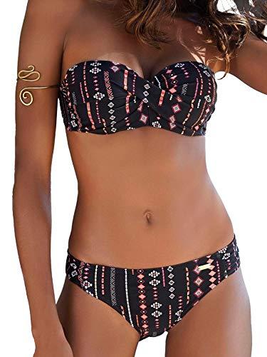 Buffalo Damen Bügel-Bandeau-Bikini