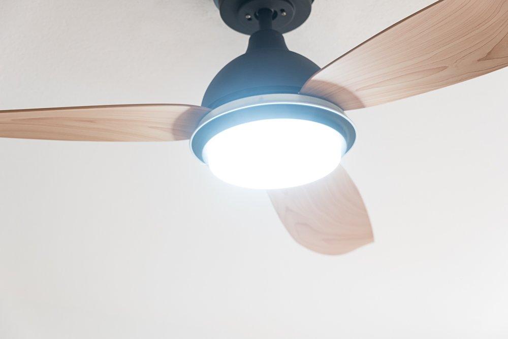 Ventilador de techo con luz LED regulable Bayu, de bajo consumo ...
