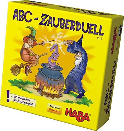 HABA 4912 - Il duello Magico dell'ABC, Gioco per Imparare l'alfabeto [Importato dalla Germania]