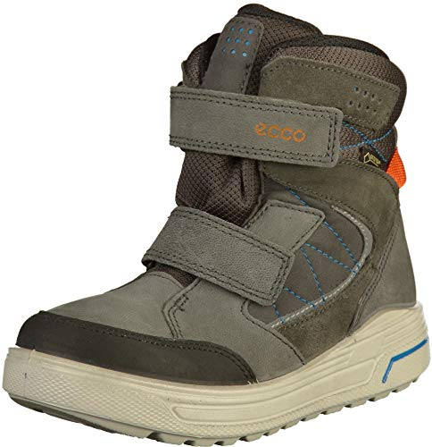 ECCO Unisex URBAN Snowboarder Klassische Stiefel, Grau (Black/Dark Shadow 56340), 40 EU