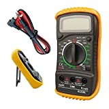 TAHA Digital LCD Multimeter Voltmeter Ammeter OHM AC DC Circuit Checker Tester with Buzzer