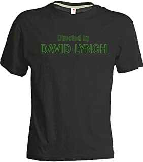 T-shirt David Lynch directed by Man Woman Director Black Twin Peaks Gift