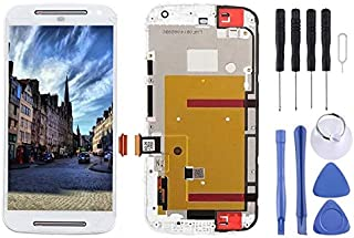 Mobile Phones Communication Accessories 3 in 1 (LCD + Frame + Touch Pad) Digitizer Assembly for Motorola Moto G2(Black) (C...