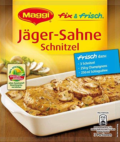 MAGGI mezcla lista y cremosa con sabor a chuleta (Hunter Schnitzel-crema) (paquete de 4)