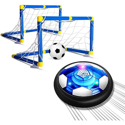 Smnvrs Juguete de fútbol, 2 goles, linternas Recargables y topes de Espuma Suave, adecuados para niños de 3 años de Edad de 4 años y por Encima de los niños