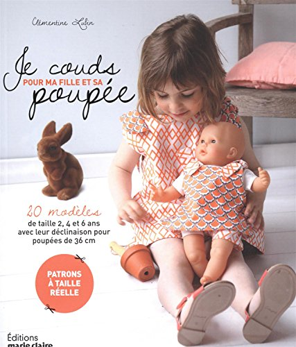 Je couds pour ma fille et sa poupée